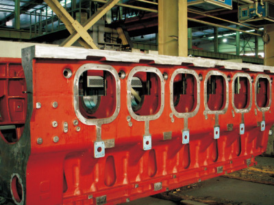 Diesel Engine Body for Ship