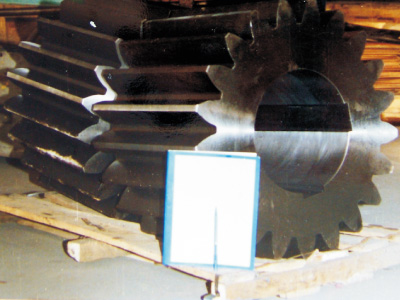 Gear, AISI 4142, 755kg, Forged
